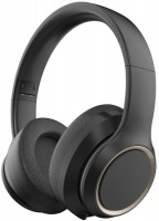 AIWA Wireless Bluetooth Headphone with Active Noise Cancelling - Black Photo