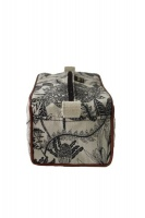 Mongoose Handcrafted Mongoose Toiletry Bag - Fynbos Charcoal/Natural Photo