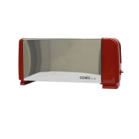 Conic Stainless Steel Premium 4-Slice Toaster - Red Photo