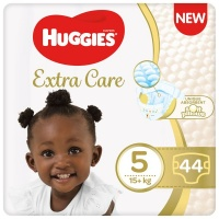 Huggies Extra Care Diapers 2 x 44 Nappies Size 5 Photo