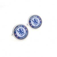 OTC Chelsea Football Club Soccer Fan Cufflinks - Gift for Men - Boxed Photo