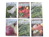 LivingSeeds Vegetable and Herb Seed - 6 Pack - The Mixed Collection Photo