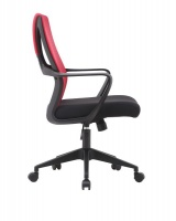 LINX Jagger Mid Back Mesh Chair - Red Photo