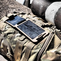 Powertraveller Tactical Solargorilla Multi-Voltage Clamshell Solar Charger Photo