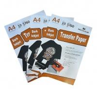 MECOLOUR TT3-DARK A4 Dark T-Shirt Transfer Paper 10 Sheets x3 Pack Combo Photo