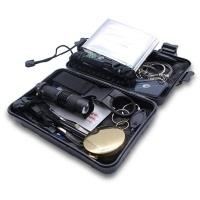 "optic life Optic 18"" 1 Emergency Survival Kit Tactical Defense - Black Photo"