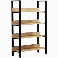 HEARTDECO DIY 4-Tier Bookshelf Storage Rack Display Shelf Photo