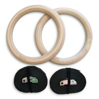 Shen Sports Wooden Gym Rings Photo