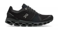 On Mens CloudStratus Road Running Shoes Black Shadow Photo