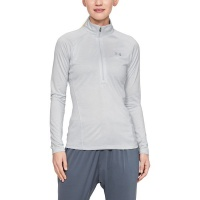 Under Armour Women's TECH Twist 1/2 Zip Sweatshirt - Halo Gray Photo
