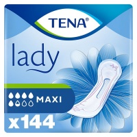 TENA Lady Maxi Incontinence Pads - Bulk Pack of 144 Pads Photo