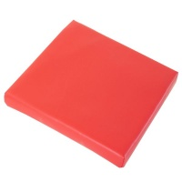 Greenbean Red Padded Floor Seat Photo