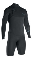 iON Wetsuit - Onyx Shorty LS FZ 2.5mm - Black - 2017 Photo
