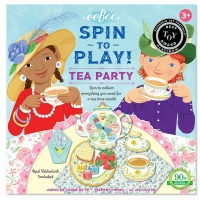 eeBoo Action Spinner Game - Tea Party Photo