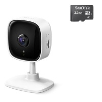 TP Link TP-LINK TAPO C100 Home Security Wi-Fi Camera and Alarm With 32GB Micro-SD Photo
