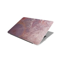 Laptop Skin/Sticker - Wall Pink and Gold Photo