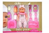 Dollsworld -Baby Grace Doll Gift Set 25cm Photo