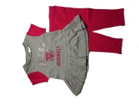 Girls Grey and Pink Two Piece Guess Set- Parallel Import Photo