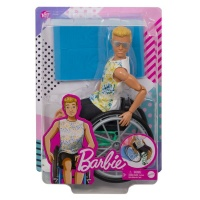 Barbie Ken Fashionistas Doll #167 With Wheelchair & Ramp Photo