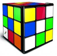 46L Counter-Top Mini Fridge - Rubik's Cube Photo