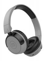 Maxell SMILO Foldable Bluetooth wireless headphones with builtin mic - GREY Photo