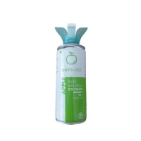 Apple Oxyburst - Pure Natural Canned Oxygen - 6L - Flavour Photo