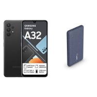 Samsung Galaxy A32 128GB DS Blue & Belkin 10000mAh Powerbank Bundle Cellphone Cellphone Photo