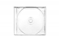 Everlotus 10mm Jewel Case Clear Tray for CD/DVD 100 pieces Photo
