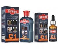Caffeine Anti-Hairloss Shampoo & Serum Treatment KitBy Style It Photo
