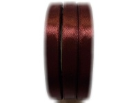 BEAD COOL - Satin Ribbon - 10mm width - Brown - Bows and Wrapping - 60m Photo
