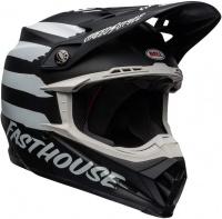 Bell Helmets BELL - Moto 9 MIPS - FASTHOUSE Signia Offroad Helmet - Matte White/Black Photo