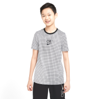 Nike Boys Dri-FIT CR7 Short-Sleeve Soccer Top - White Photo