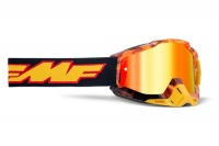 FMF PowerBomb Spark Red Goggle Photo