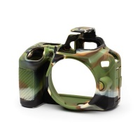 EasyCover PRO Silicon DSLR Case for Nikon D3500 - Camouflage Digital Camera Photo