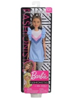 Barbie Fashionistas Doll 121 with Long Brunette Hair and Prosthetic Leg Photo