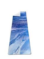 Gooroo Premium Yoga Fitness Towel   Strata Photo