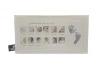 Baby Milestone Picture Frame Photo