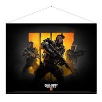 "Call Of Duty Official : Black Ops 4 ""Keyart"" Wall Scroll Photo"