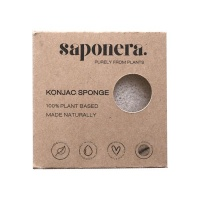 Saponera - Konjac All Natural Sponge in a Box - Deep Cleansing Bath Photo
