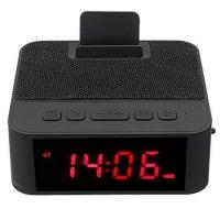 CEll Fixer Wireless Bluetooth Speaker X31 Mobile Phone Stand Alarm Clock - Black Photo