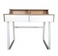 Modern Student Writing Desk with Shelf Drawers & Pigeonholes Photo