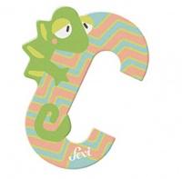 Sevi Wooden Letter C Chameleon Photo