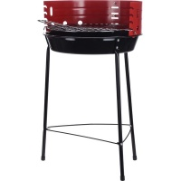 Eco BBQ Charcoal Grill on Three Legs with Windscreen Photo