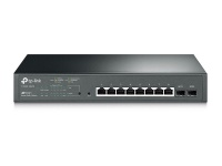 TP Link TP-LINK 8-Port PoE With 2x SFP VLAN QOS Switch Photo