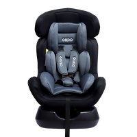 CUDO Grace Baby Car Seat Light Grey and Black Photo