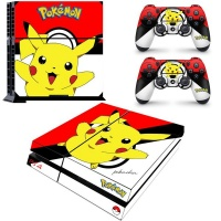 SKIN-NIT Decal Skin For PS4: Pikachu Photo
