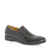 Green Cross GX & Co Men Formal Slip On Shoes- Black 71927 Photo