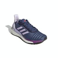 adidas Women's Solar Glide 19 Running Shoes - Blue Photo