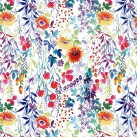 Gift Wrapping Paper 5m Roll - Blooms Photo