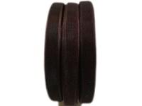 BEAD COOL - Organza Ribbon - 10mm width - DarkBrown - 120 meters Photo
